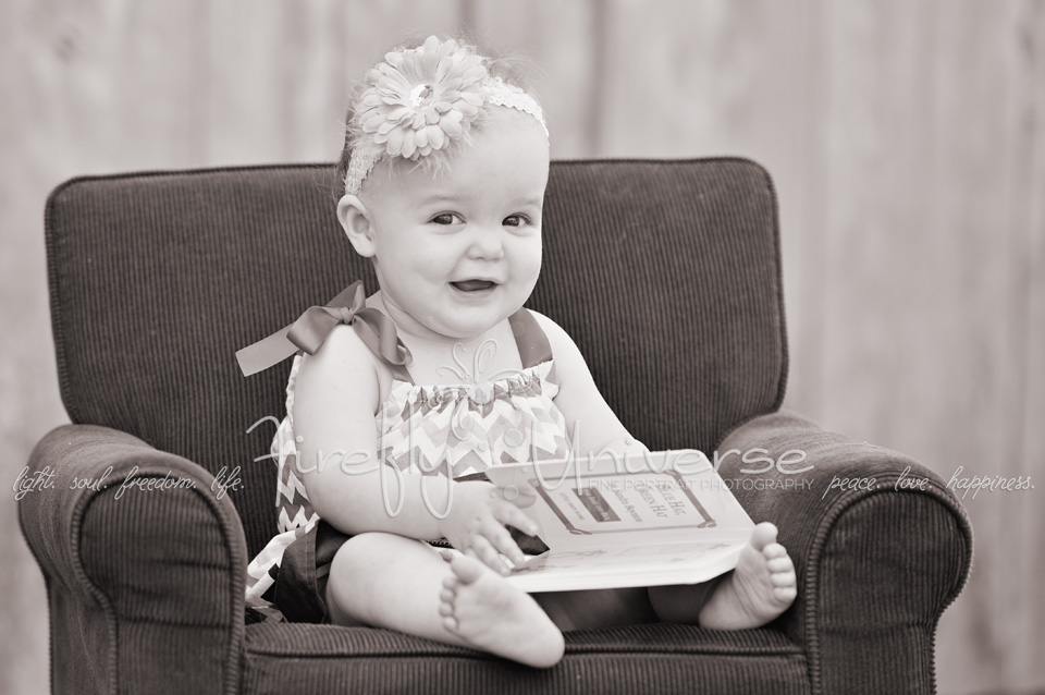 1st Birthday Portrait Session! {St. Louis Baby Photographer}
