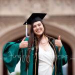 St. Louis College Graduate Portrait Photography   Firefly Universe